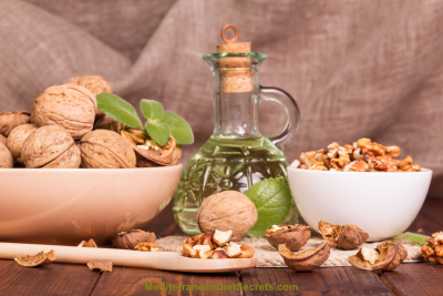 Mediterranean Diet with Olive Oil and Nuts