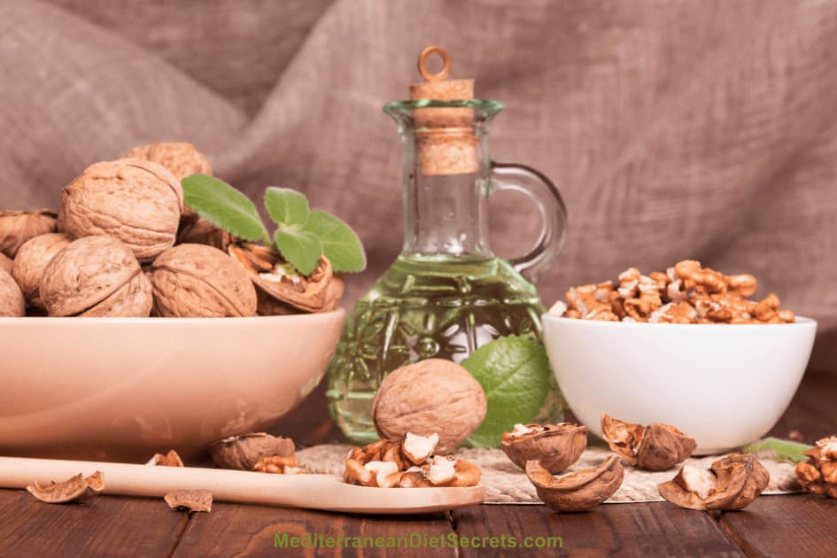 Mediterranean Diet Olive Oil Nuts